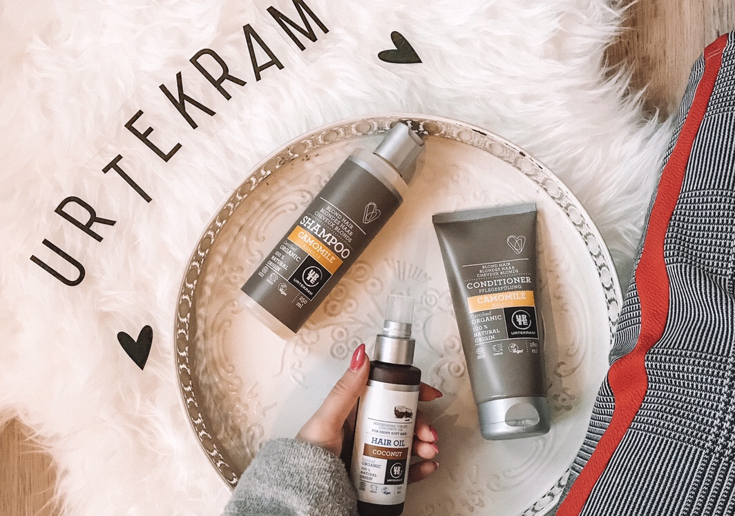 BODY AND HAIR CARE WITH URTEKRAM
